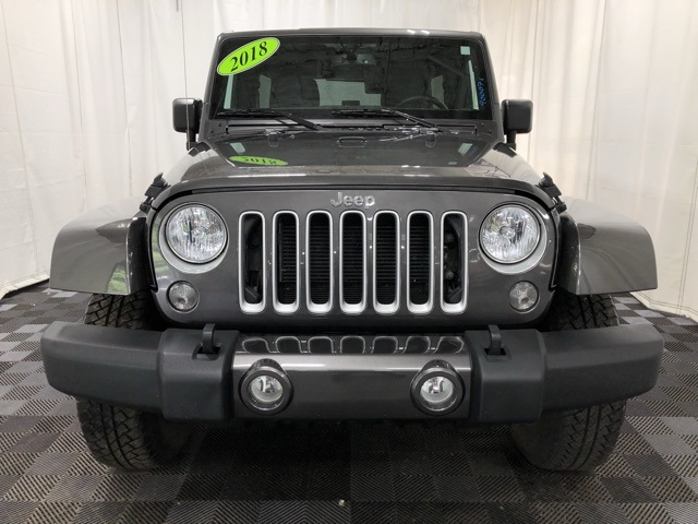 Pre-Owned 2018 Jeep Wrangler JK Unlimited Sahara