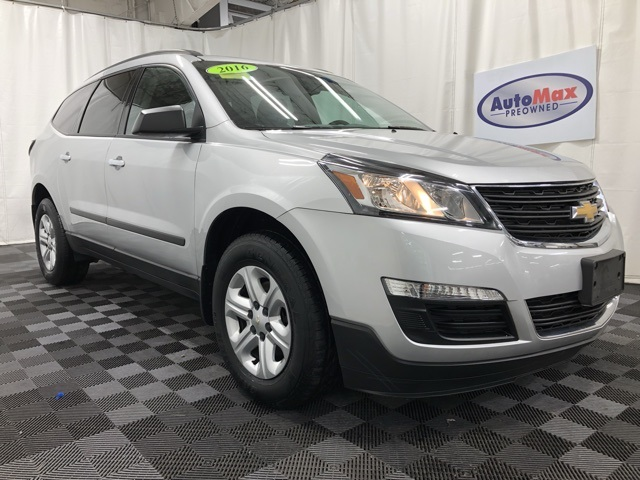 Pre-Owned 2016 Chevrolet Traverse LS