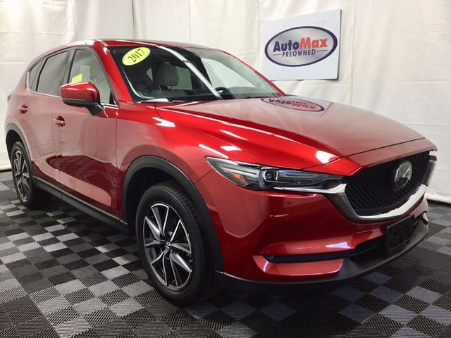 Pre-Owned 2017 Mazda CX-5 Grand Touring Premium w/ Navigation & Moonroof